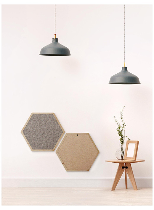 HEX SMALL – Configured scratching post in a natural frame