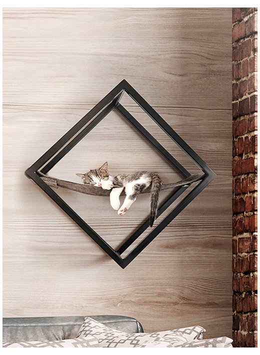 CUBE – Wall hanging element with bedding function