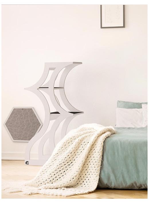 TREE - Un meuble haut en couleur blanc pour chat