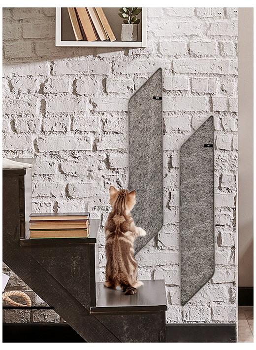 DART - Grattoir mural en graphite dans un cadre en aluminium